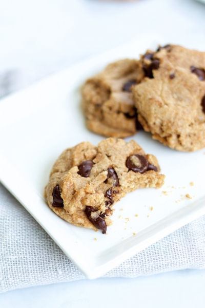 Simplest chocolate chip cookie ever.