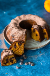 The easiest dark chocolate and pumpkin bread