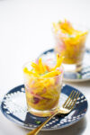 Mango Ceviche, delicious and vegan