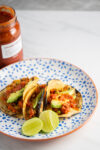 Lentil picadillo tacos (with video)