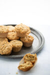 LEMON POPPY SEED VEGAN MUFFINS