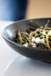 BAKED GREEN BEANS WITH AIOLI