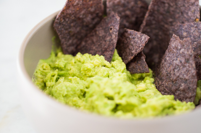 Healthiest guacamole recipe ever
