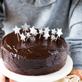 Recipe for best vegan birthday cake, chocolate cake