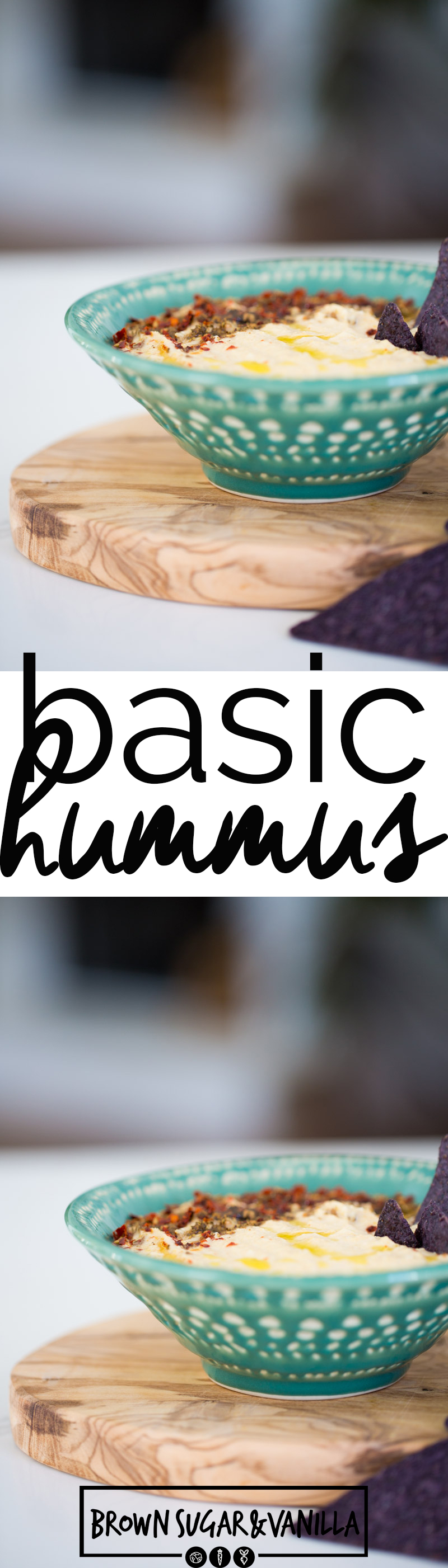 Hummus, this is the easiest recipe to prepare the best basic recipe for hummus. Just add the ingredients to the food processor and enjoy. #vegan, #healthyrecipe, #superbowl