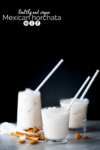 vegan and healthy mexican horchata