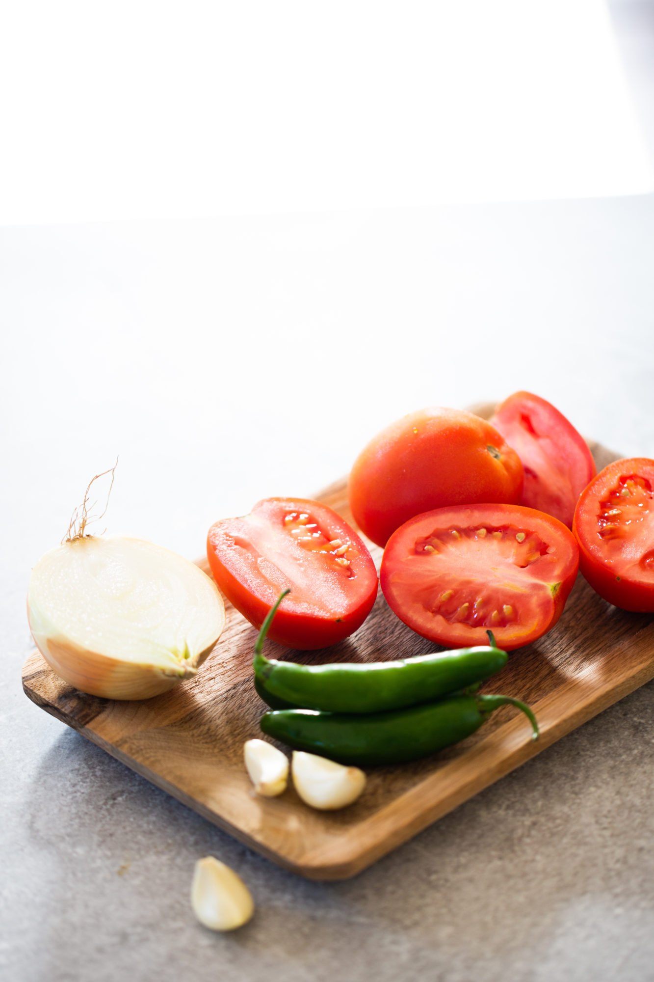 ingredients for mexican sauce